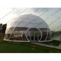 Buy cheap Large Aluminium Geodesic Dome Tent PVC Professional Easy Transportation Trouble from wholesalers