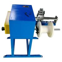 Buy cheap Aluminum Alloy Steel Wire Winding Machine Wire Take Up Machine With Belt Brake product