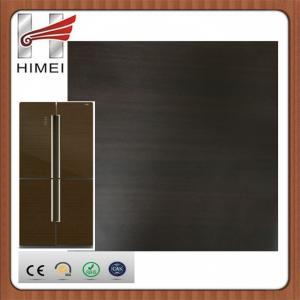 Buy cheap 最上質の木製の穀物によって薄板にされた鋼鉄コイルは冷却装置パネルのための鋼板をcaoted product