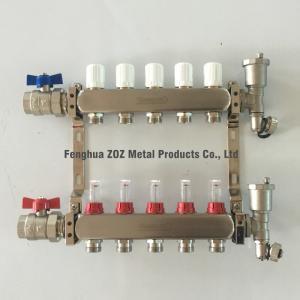 Buy cheap Коллектор топления пола 5 ветвей для продуктов системы отопления под полом product