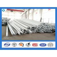 Buy cheap Philippines Nea Standard Q345 40FT Hot Dip Galvanized Power Line Steel Pole from wholesalers