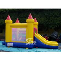 Buy cheap 4in1 indoor kids party small bouncy castle made of lead free material from Sino Inflatables product