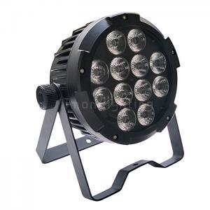 Buy cheap Aluminum Die-Cast IP65 12x18w RGBWA+UV 6in1 Waterproof LED Flat Par Light product