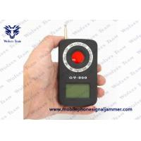 Buy cheap Smart Anti Spy Wireless Signal Detector 920nm Detecting Wave Distance from wholesalers