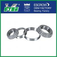China High Temperature Taper Rolling Bearing , Tapered Wheel Bearing Anti Friction on sale