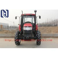 China 4x4 Gear Drive 3 Point Hitch Standard Four Wheel Drive Tractor / 80hp 4wd Farm Tractor on sale