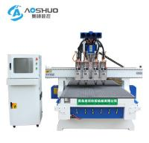 China Italy HSD Brand 4 Axis Cnc Wood Router 1325 Vacuum Table Yaskawa Servo Motor on sale