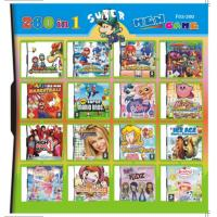 China 32GB 260 in 1 260 in one Multi games Card for DS/DSI/DSXL/3DS Game Console on sale