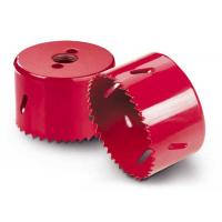 China Bi - Metal M3/M42 High Speed Steel Hole Saw For Metal Sheet Red Color on sale