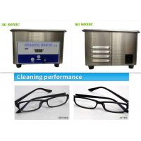 Buy cheap Home Use Sonic Wave Professional Ultrasonic Cleaner For Sunglasses / Eyeglasses product