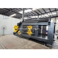 Buy cheap Custom Made 2M Weaving Width Gabion Machine for 66x80mm With 2.0mm Steel Wire from wholesalers