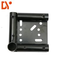 Buy cheap Moving Equipment Caster Base Anti - Rust Black Color Steel Plate Extrusion product