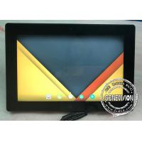 Buy cheap Taxi PCAP Touchscreen Bus Digital Signage Car Media Player 10.1 Inch With Camera product