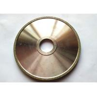 Buy cheap Flat Industrial Electroplated Small Diamond Grinding Wheels 150mm Edge Abrasive from wholesalers