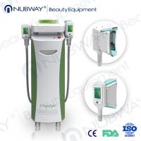 Buy cheap RF & Ultrasonic & Cryolipolysis & Vacuum 4 in 1 Multifunction 5 handles fat-freezing product