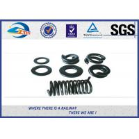 Buy cheap Black Spring Locking Washer 65Mn for Bolt / Split Lock Washers product