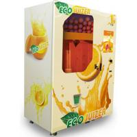 China Healthy Freshly Squeezed Orange Juice Vending Machine With 19 Inch Led Screen wholesale
