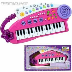 Juguete plástico del órgano electrónico del juguete
