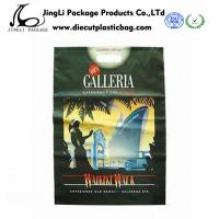Buy cheap Black Die-cut Bag Printed Plastic Gift Bag personalized polybag with 100mm Width product