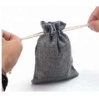 Buy cheap Jute Recycled Drawstring Bags Mini Size For Jewelry / Party Gift's Packing product