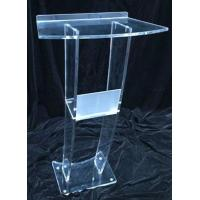 Buy cheap Customized acrylic lectern modern design acrylic lectern product