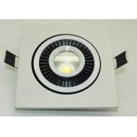 China IP45 COB Led Ceiling Downlights 90-95lm / W High Power Led Downlight wholesale