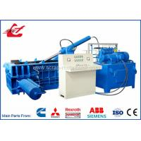 China Aluminum Wires Scrap Metal Baler Machine For Steel Plants Recycling Companies on sale