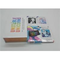 Buy cheap Funny Popular Strategic Party Card Games For Adults Unstable Unicorns from wholesalers