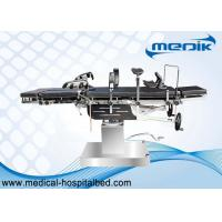 Buy cheap Double Layer Multi Purpose Hydraulic Surgical Operating Table With Head Controlled product