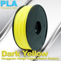 Buy cheap Diameter 1.75mm / 3.0mm 1.0KG / roll PLA Filament For 3F Printer In Stock product