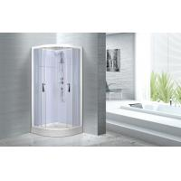 Buy cheap Cheap , Popular luxury shower cabin ,  Chrome Aluminium Quadrant Shower cabin product