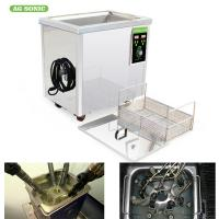 Buy cheap SUS 304 40KHz Material Industrial Ultrasonic Cleaner 60L For Heavy Grease Oil product