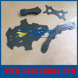 Buy cheap folha da fibra do carbono 3K para as peças do presente product