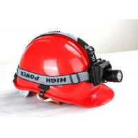Buy cheap IP65 300 lumen Explosion Proof LED Headlamp 3 Watt  16hrs Working Time product