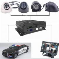 Buy cheap Four - In - One Dual SD Card Mobile Vehicle DVR With 3G / 4G GPS WIFI , 1080P Resolution product
