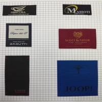 Buy cheap high quality cheap direct factory wholesale hot sale new custom satin woven labels from wholesalers