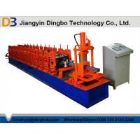 Buy cheap Hydraulic Cutting Steel Storage Rack Roll Forming Machine With With 5 Ton Decoiler from wholesalers