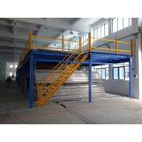 Steel floor deck mezzanine racking system industrial for Steel mezzanine design