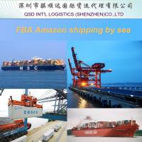 LCL shipping to Amazon warehouse FBA from Shenzhen China to Dallas USA professional Amazon cargo agent service in China