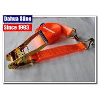 Retractable Flatbed Ratchet Straps , 27ft Length Pull Down Ratchet Straps