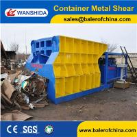 Buy cheap WANSHIDA Waste Scrap Steel Container Metal Shear Cutting Machine China manufacturer product