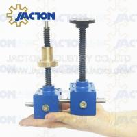 China SWL Series bevel gear high speed screw jack SWL Series bevel helical screw jack Rotated Screw Gear Worm Drive on sale