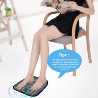 Buy cheap Meraif Remote Control EMS Foot Massage Mat Pad, USB Rechargeable Electric Foot Sole Massager with EMS Technology for Wom product