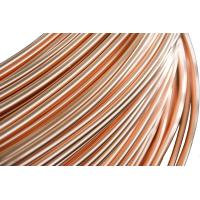 Buy cheap Refrigeration Copper Tube , Brazed Steel Pipes 4.76 * 0.65 mm product
