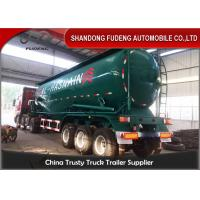 Buy cheap 50 Cm Dry Bulk Carriers Bulk Cement Tanker Trailer , Cement Tank Trailer product