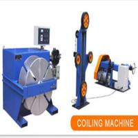Buy cheap Energy Saving Precision Layer Winding Machine Iron Aluminum Adjustable Speed product