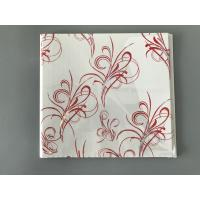 China Flat Transfer Printing 25cm × 7mm Ceiling PVC Panels To Decorate Kitchen on sale