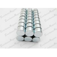 Strong Neodymium Magnets Dia 15 mm * 10 mm Thickness Zinc Coated For Holders for sale