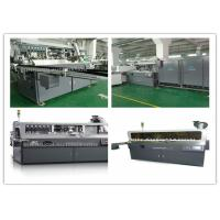 China Fully Automatic Plastic Bottle Silk Screen Printing Machinery Single Color on sale