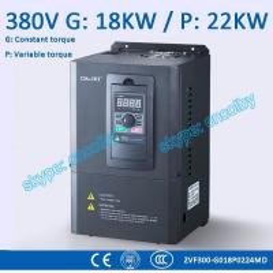 Buy cheap conversor de frequência da baixa tensão da movimentação da C.A. da movimentação VFD AC-DC-AC 50Hz/60Hz da Variável-frequência do CNC da bomba do motor 18kw/22kw product